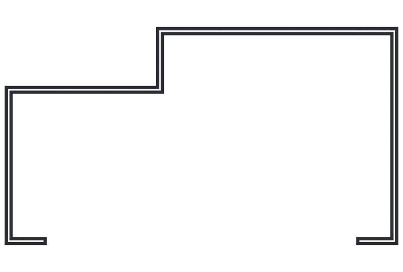 One Part 16 Gauge Stainless Steel Frame for FRP Door
