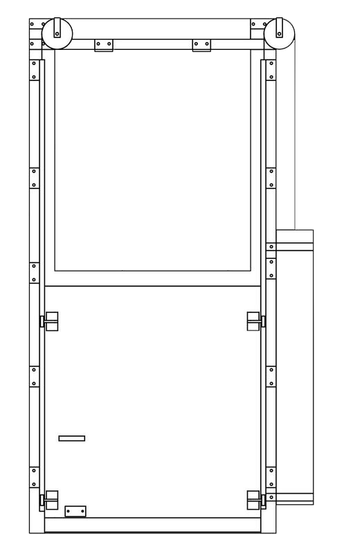 vertical door